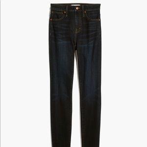 Madewell Curvy High-Rise Skinny Jeans Tencel
